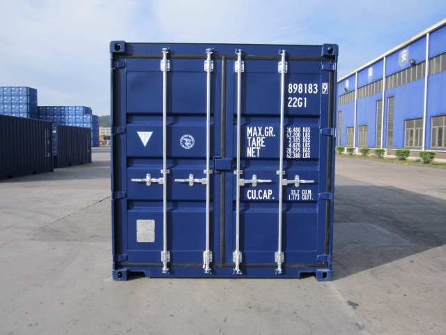 20 ft dry container boxinnov for Structure conteneur