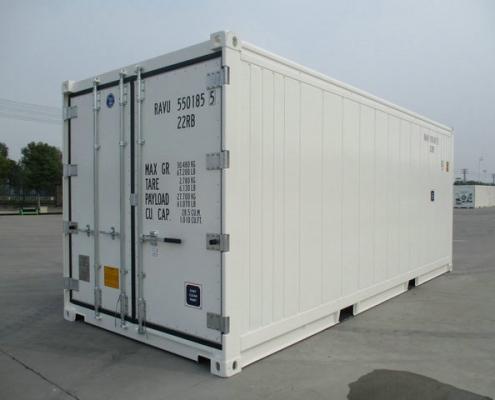 conteneur 20 pieds chambre froide