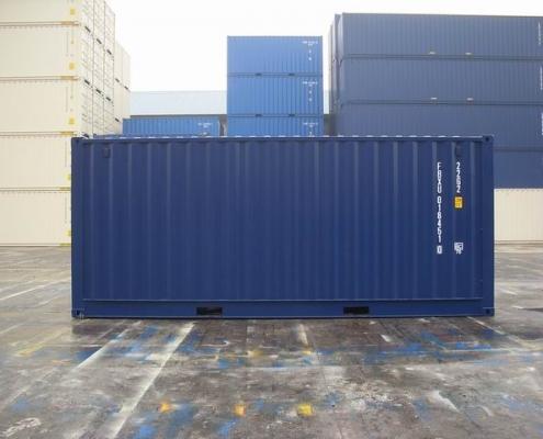conteneur 20 pieds cote ouvert