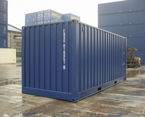 conteneur 20 pieds open side