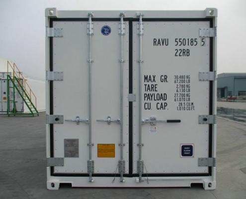 conteneur 20 pieds reefer