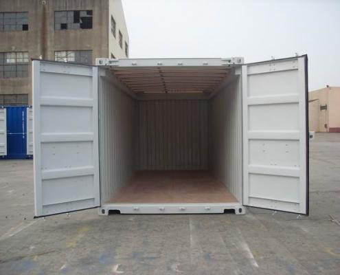 conteneur 20 pieds toit ouvert