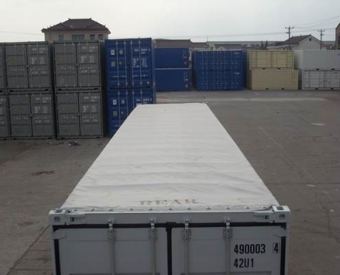 conteneur 40 pieds 1er voyage