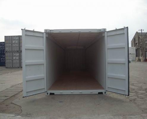 conteneur 40 pieds toit ouvert