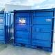 container 8 pieds bleu boxinnov