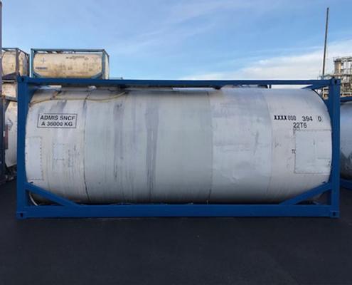 container citerne stockage liquide transport
