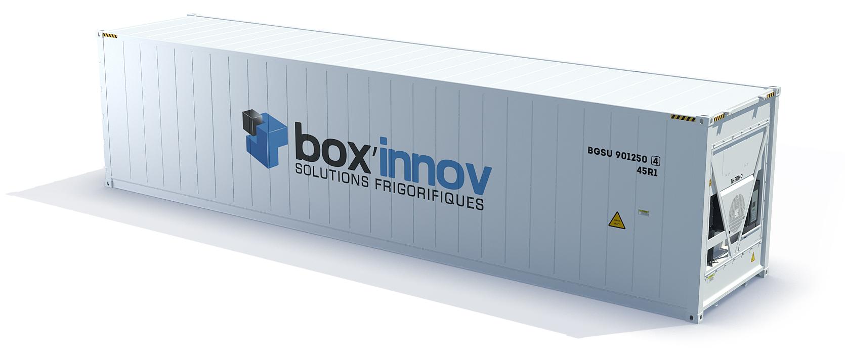 conteneur 12m frigorifique
