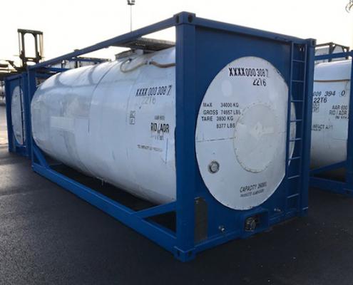 conteneur citerne stockage transport liquide