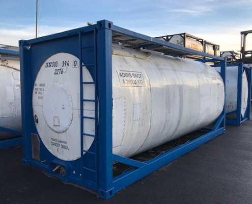 conteneur citerne stockage liquide transport