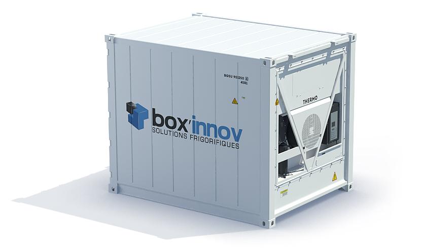 Conteneur 10 pieds frigorifique reefer occasion et neuf for Chambre container