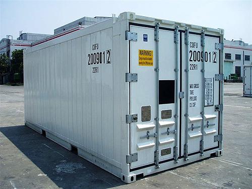 conteneur  offshore frigo