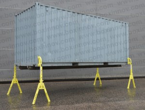 béquilles levage container