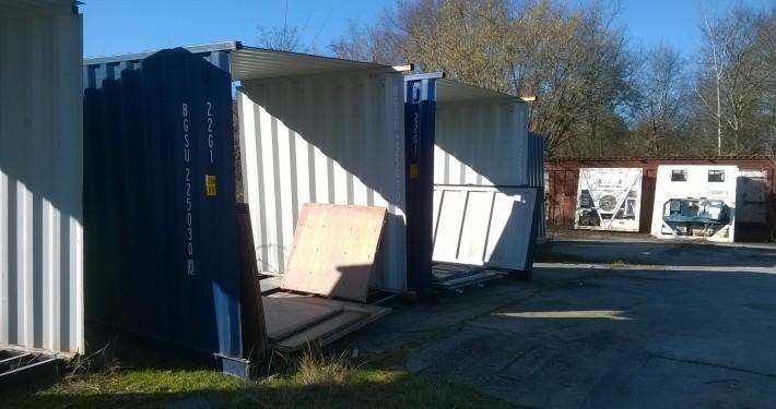 Container recyclé en container