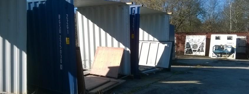 container structure acier