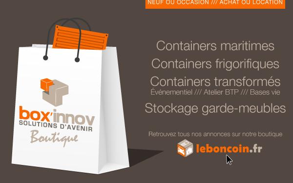 Le bon coin du container !