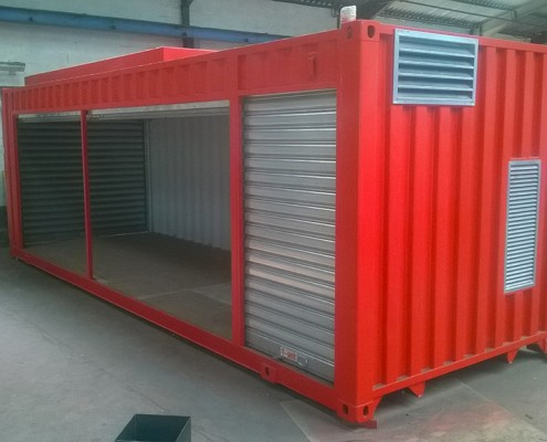 shelter container data center