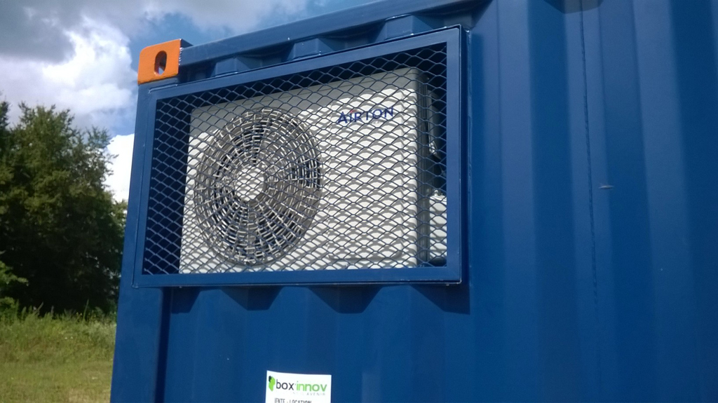 Container am nag climatisation et isolation for Prix de container
