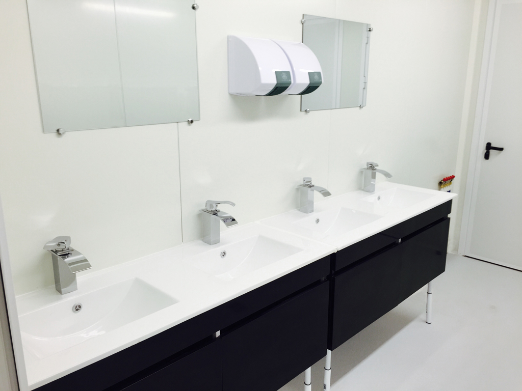 container lavabo
