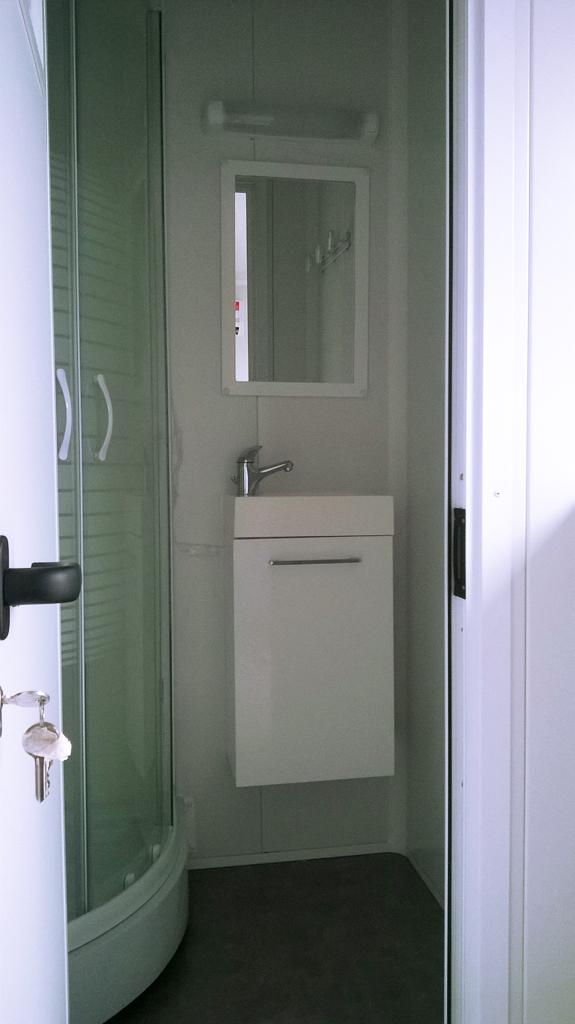 conteneur douche