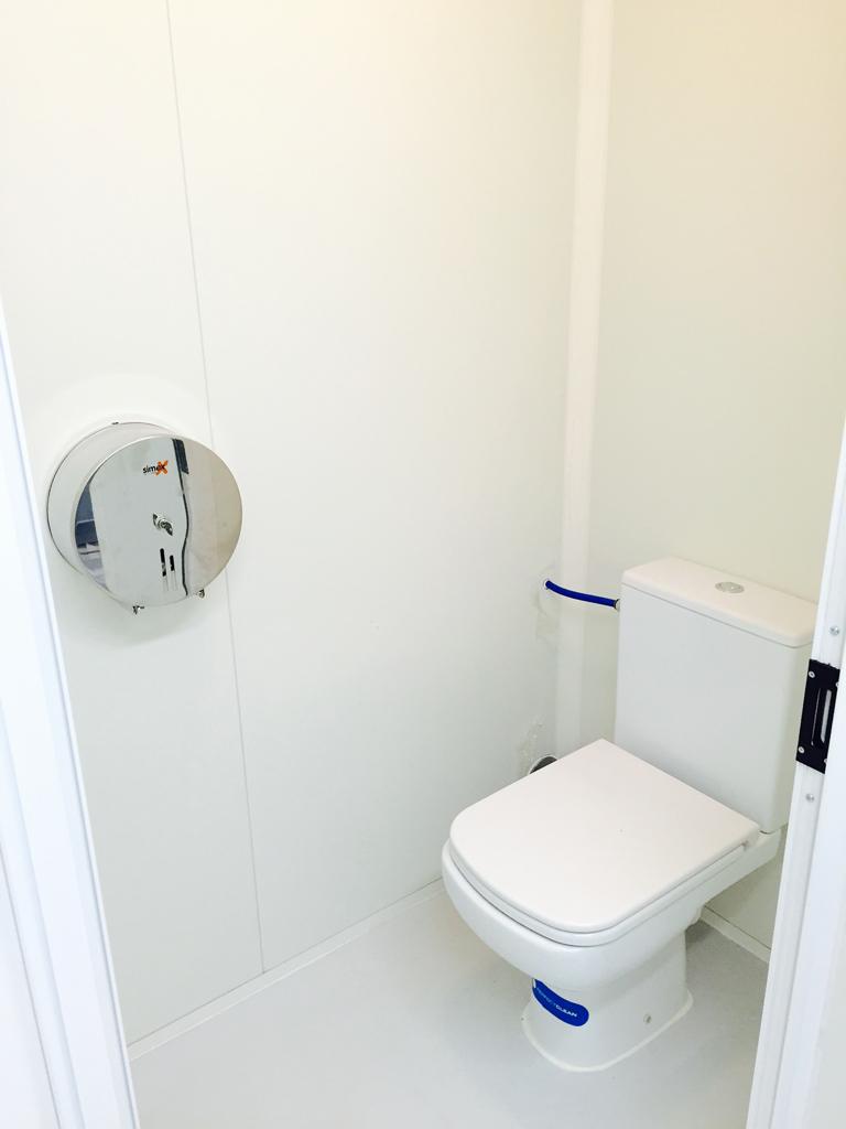 conteneur wc toilettes
