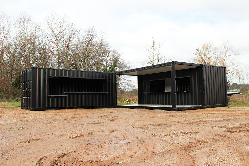 Le container v nementiel boxinnov for Conteneur pour renovation