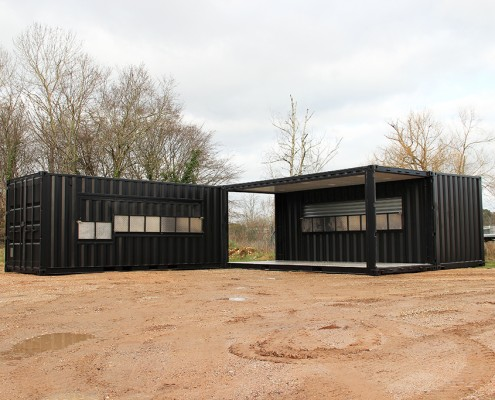 location container billeterie