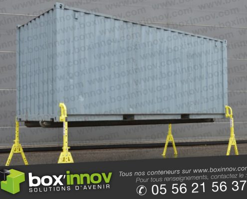 boxinnov container bequilles