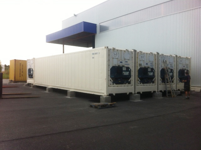 container reefer assemble