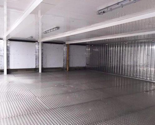 containers frigorifiques assembles