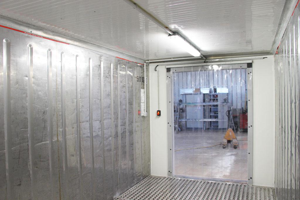 conteneur frigo modifie