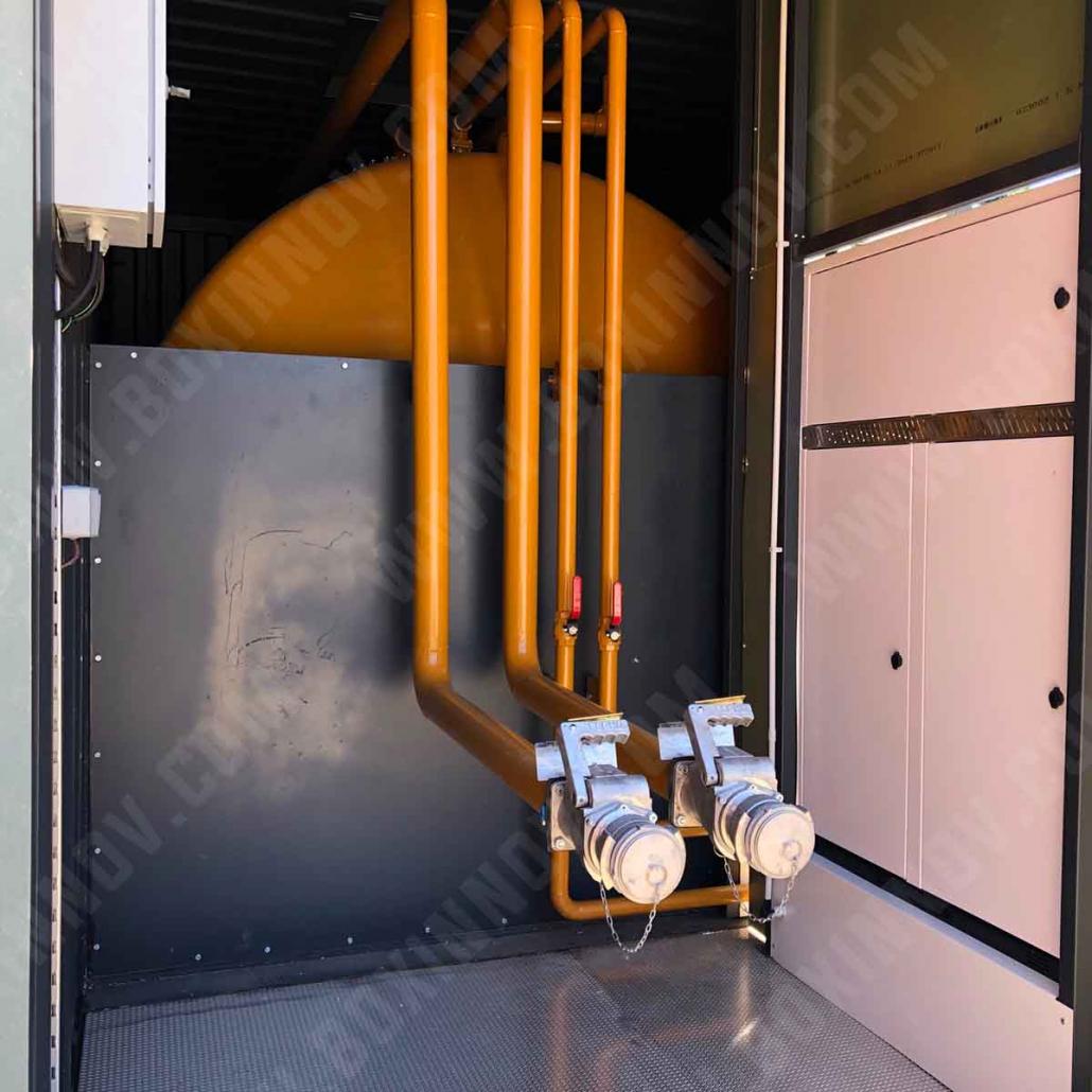 conteneur stockage carburant