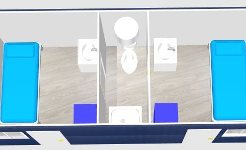 Container sanitaire boxinnov for Isolation conteneur maritime
