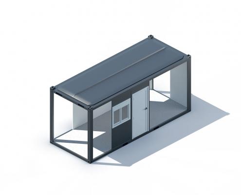 bungalow cabane de chantier