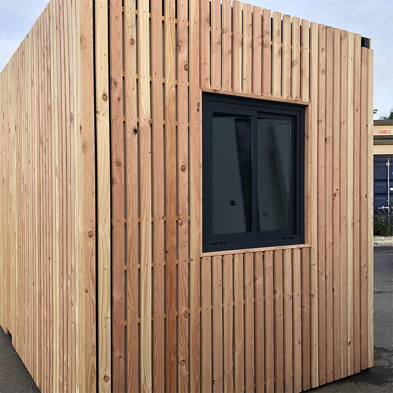 bureau professionnel fenêtre bois