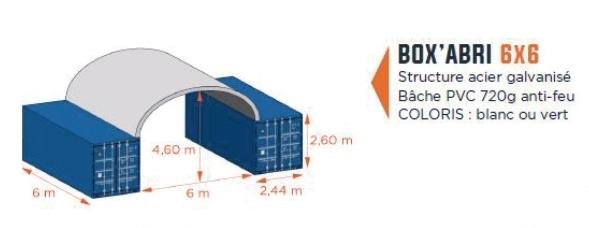 box'abri 6x6