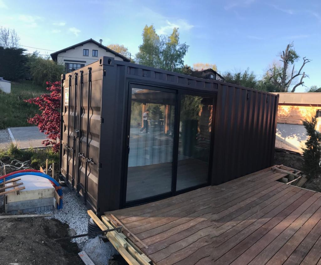 container loge artiste