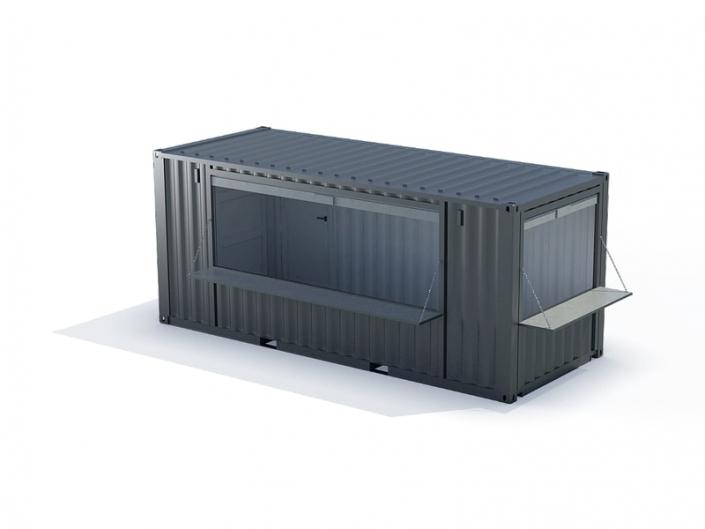 conteneur kiosque