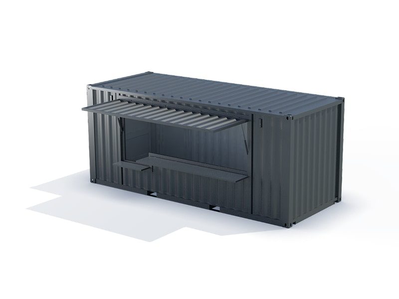 container kiosque