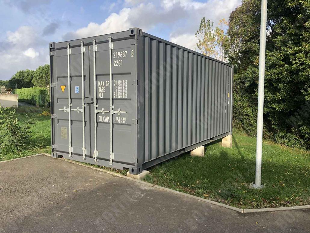 Livraison d'un container neuf