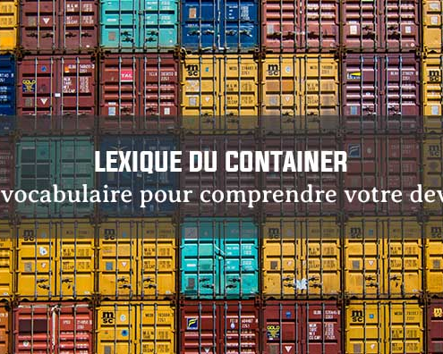 vocabulaire du conteneur