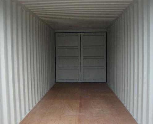 conteneur 6m double portes