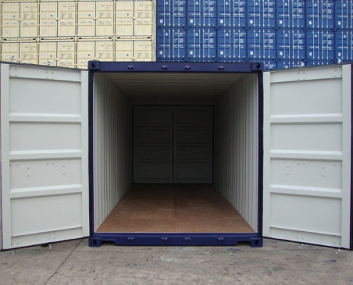 conteneur 6m doubles portes
