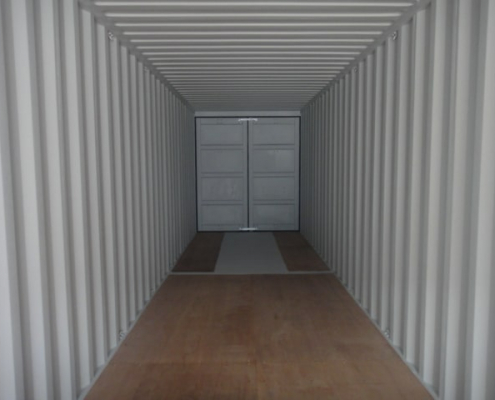 container 40 pieds double doors