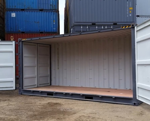 container 20 pieds open side high cube